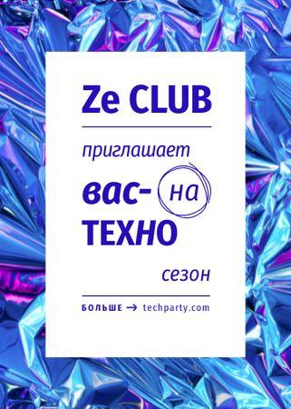 club Flayer – шаблон для дизайна