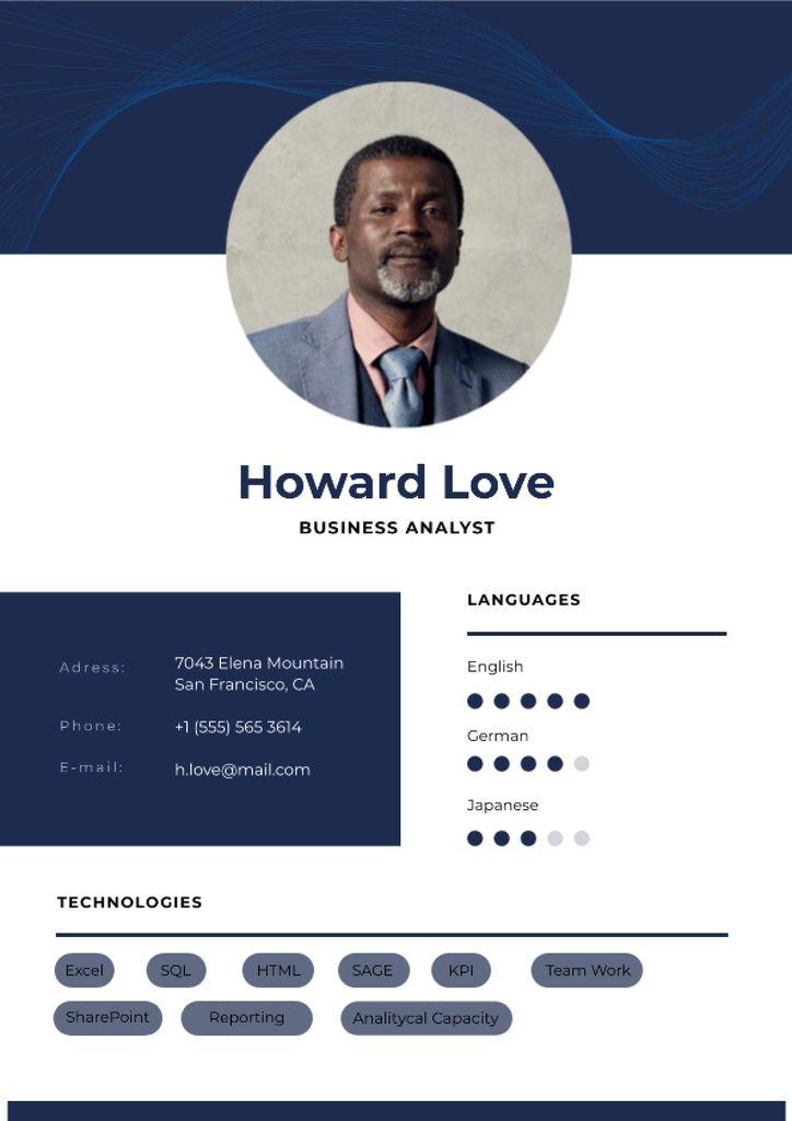 Business Analyst professional profile — Maak een ontwerp
