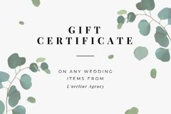 Wedding Items offer