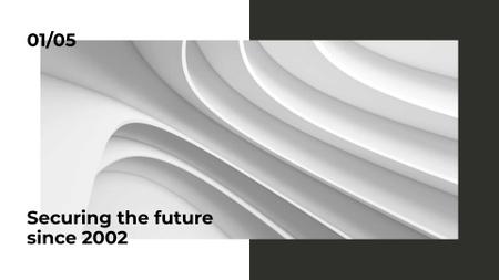 Insurance Company services Presentation Wideデザインテンプレート