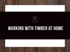 Textured wooden planks