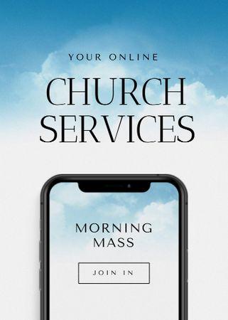 church Flayer – шаблон для дизайну