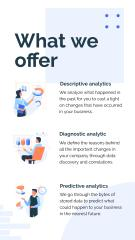 Business Analysis services offer with Working Team