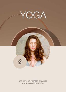 Online Yoga classes promotion