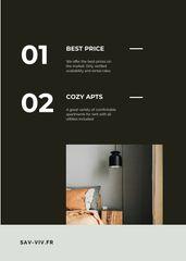 Cozy Room Interior for Rental services