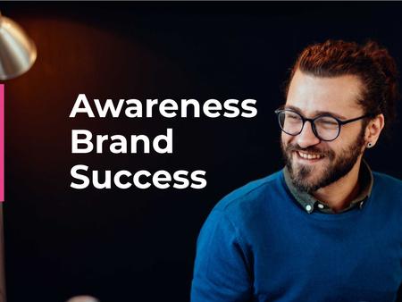 Business Strategy Development Announcement Presentation – шаблон для дизайна