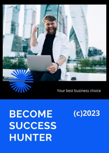 Business Conference Announcement With Happy Man
