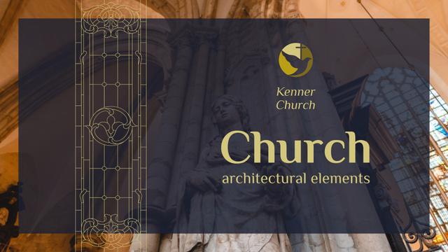 Christian church interior Presentation Wide – шаблон для дизайну