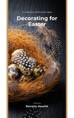 Easter Decor Quail Eggs in Nest