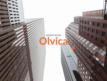 Branding Agency Services Offer with Modern Buildings Presentation – шаблон для дизайна