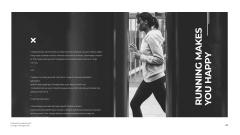 Citation with Woman on Running Start