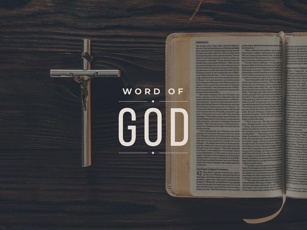 Holy Bible and Jesus Christ On Cross the crucifixion — Crear un diseño