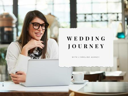 Template di design Wedding Agency Services Offer with Successful Agent Presentation